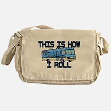 How I Roll RV Messenger Bag