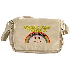 Gay Rainbow Messenger Bag