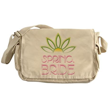 Spring Bride Messenger Bag