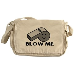 Blow My Whistle Messenger Bag