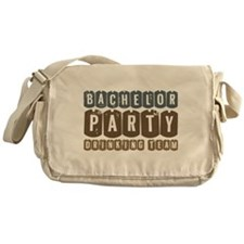 Bachelor Drinking Team Messenger Bag
