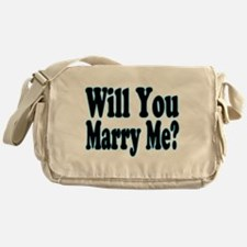 Will You Marry Me? His Messenger Bag