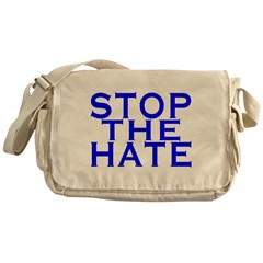 Stop The Hate Messenger Bag