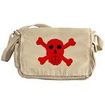 Peace Skull Messenger Bag