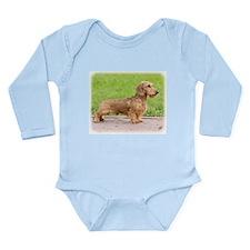 Dachshund 9Y426D-178 Long Sleeve Infant Bodysuit