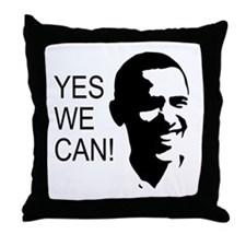 Obama's Face: Throw Pillow