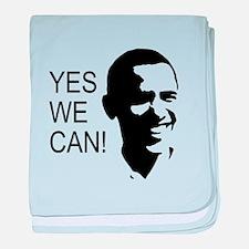 Obama's Face: baby blanket