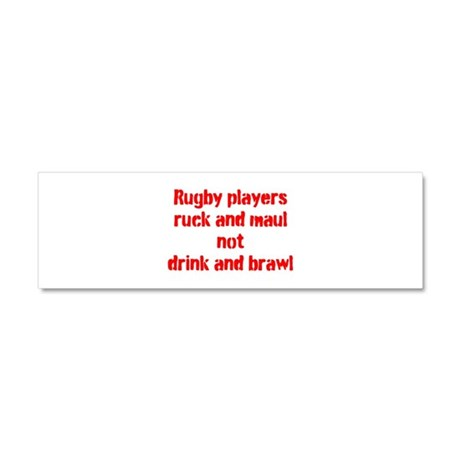 Ruck and maul Car Magnet 10 x 3