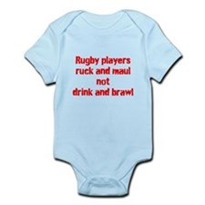 Ruck and maul Infant Bodysuit