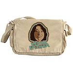 Wise Latina Messenger Bag
