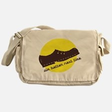 Funny Bush Shoe Messenger Bag