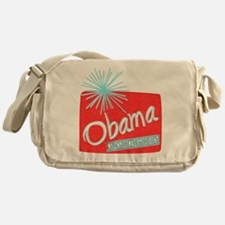 Obama Christmas President Messenger Bag