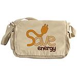 Save Energy Messenger Bag