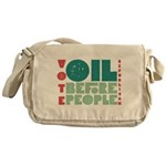 Oil Before People Messenger Bag
