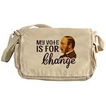 Vote Change Messenger Bag