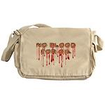 No Blood for Oil Messenger Bag