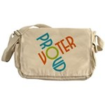 Proud Voter Messenger Bag
