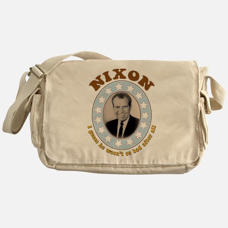 Bring Back Nixon Messenger Bag