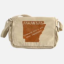 Vintage Arkansas Messenger Bag