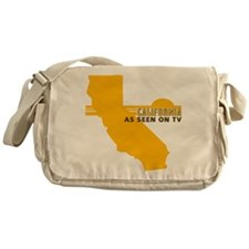 Vintage California Messenger Bag