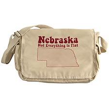 Nebraska Flat Messenger Bag
