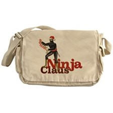 Ninja Claus Messenger Bag