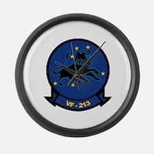 F-14 Tomcat VF-213 Black Lion Large Wall Clock
