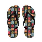 Colorful Critters Flip Flops