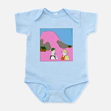 Spaddenburg (no text) Infant Bodysuit