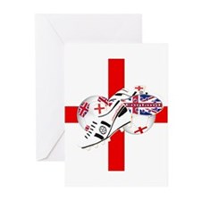 England Football Team Greeting Cards (Pk of 20)