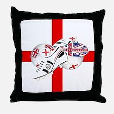 England Football Team Throw Pillow