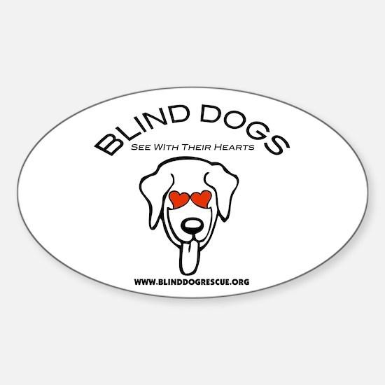Unique Blind Sticker (Oval)