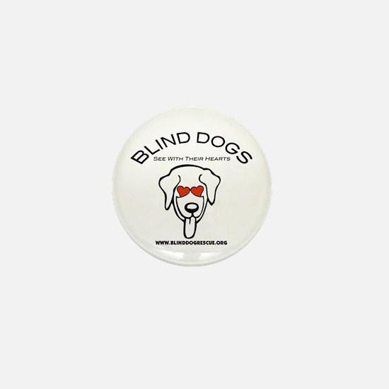 Cute Adoption dog Mini Button
