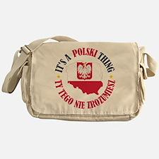Polish Thing Messenger Bag
