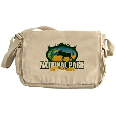 Natl Park Nerd (Ver 2) Messenger Bag