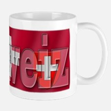 Silky Flag of Schweiz Mug