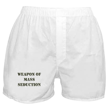Weapon Of Mass Seduction Boxer Shorts
