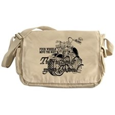 Two wheels move the soul Motorcycle Messenger Bag