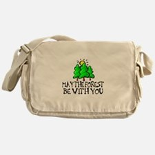 May The Forest Messenger Bag