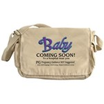 Baby - Coming Soon! Messenger Bag
