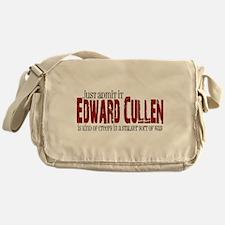 Funny Twilight werewolves Messenger Bag
