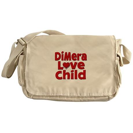 DiMera Love Child Messenger Bag