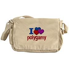 I Love Polygamy Messenger Bag