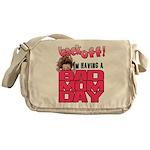 Bad Mom Day Messenger Bag