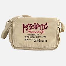 Psychotic Housewife Messenger Bag