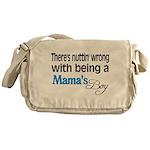 Mama's Boy Messenger Bag