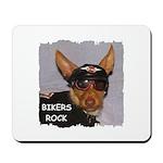 BIKERS ROCK Mousepad
