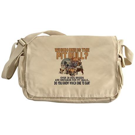 Find the Pit Bull Messenger Bag