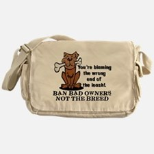 Ban Bad Owners Messenger Bag