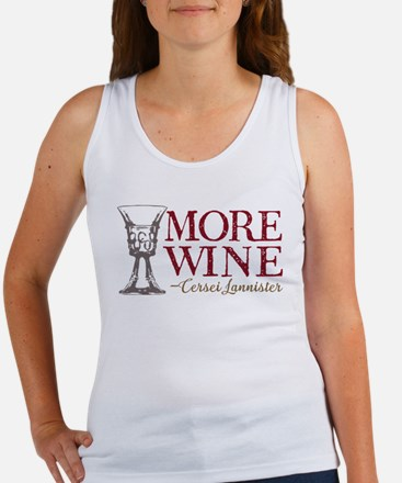 GOT Cersei More Wine Tank Top